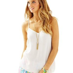 Lilly Pulitzer / Dusk Top in Resort White